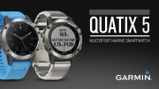 GARMIN QUATIX 5 GPS WATCH